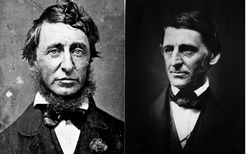 Henry David Thoreau and ralph waldo emerson
